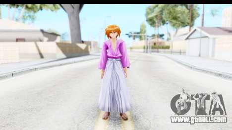 Kenshin v3 for GTA San Andreas second screenshot