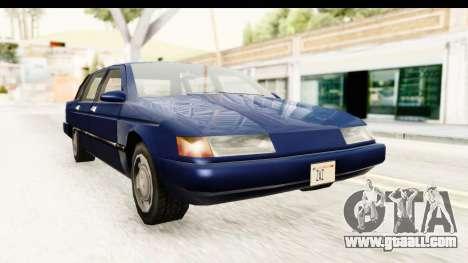 Solair Sedan for GTA San Andreas