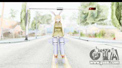 Charlotte (Strike Witches) for GTA San Andreas second screenshot