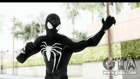 Spider-Man PS4 E3 Black Suit Edition for GTA San Andreas