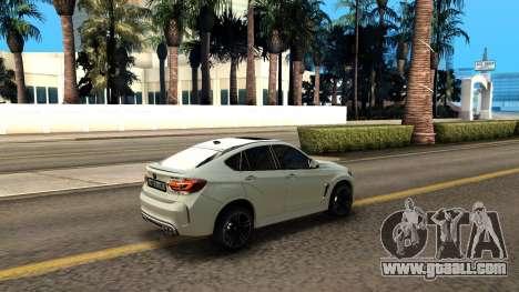BMW X6M Bulkin Edition for GTA San Andreas side view