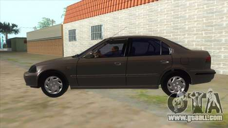 Honda Civic Sedan Stock for GTA San Andreas