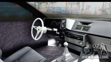 MGSV Phantom Pain Firetruck for GTA San Andreas inner view