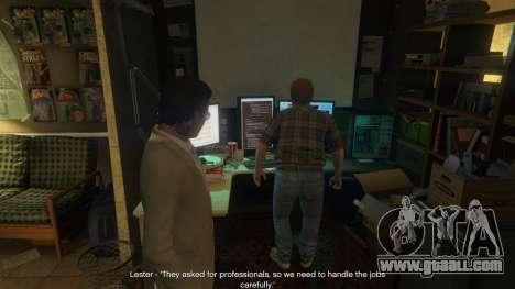 GTA 5 Story Mode Heists [.NET] 1.2.3 third screenshot
