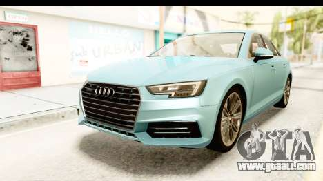 Audi A4 TFSI Quattro 2017 for GTA San Andreas