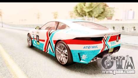 GTA 5 Ocelot Lynx for GTA San Andreas side view