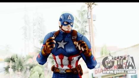 Marvel Heroes - Capitan America CW for GTA San Andreas forth screenshot