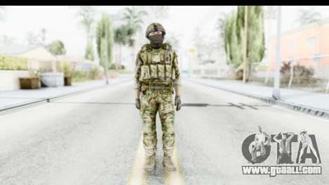 Global Warfare UK for GTA San Andreas second screenshot