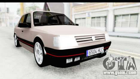 Peugeot 309 GTi for GTA San Andreas