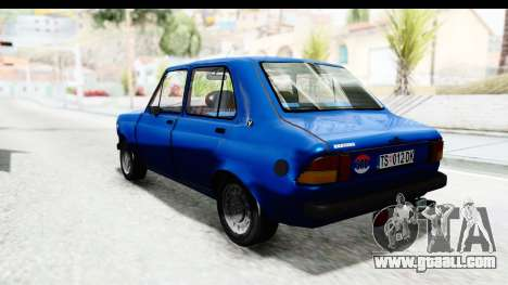 Zastava Skala 55 for GTA San Andreas left view
