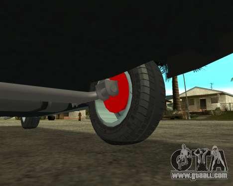 Vaz 21099 ARMNEIAN for GTA San Andreas engine