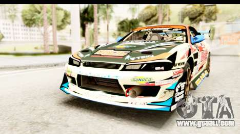 D1GP Nissan Silvia RC926 Toyo Tires for GTA San Andreas right view