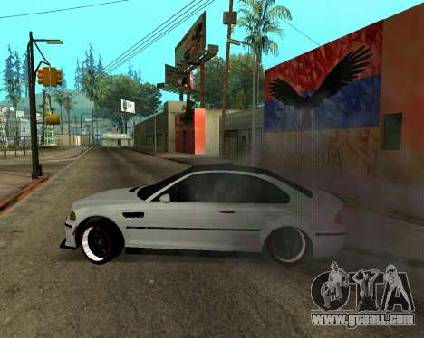BMW M3 Armenian for GTA San Andreas engine