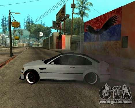 BMW M3 Armenian for GTA San Andreas engine