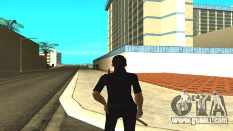 Skin of a female officer for GTA San Andreas third screenshot