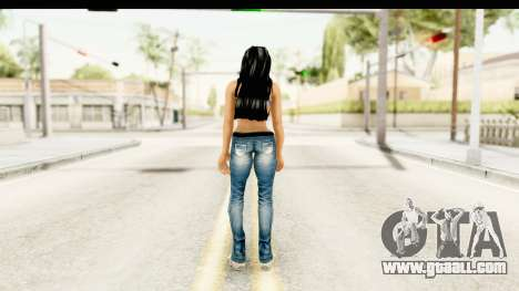 Gangsta Girl for GTA San Andreas third screenshot