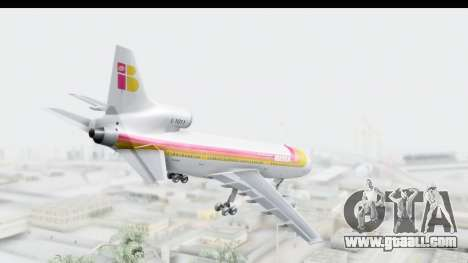 Lockheed L-1011-100 TriStar Iberia for GTA San Andreas left view