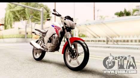 Honda CG150 for GTA San Andreas right view