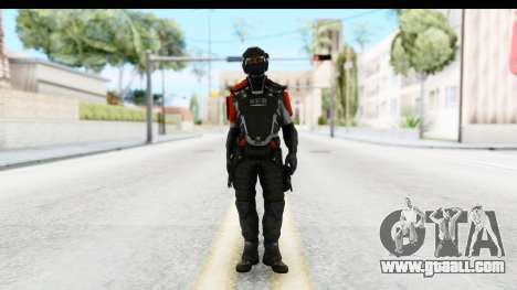 Homefront The Revolution - KPA v3 Captain for GTA San Andreas second screenshot