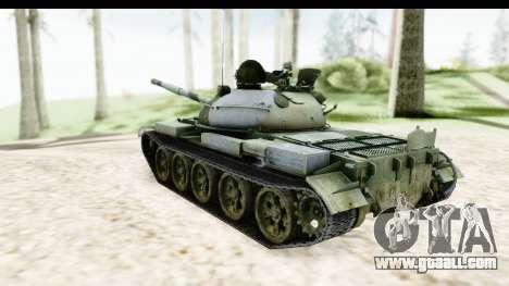 T-62 Wood Camo v2 for GTA San Andreas