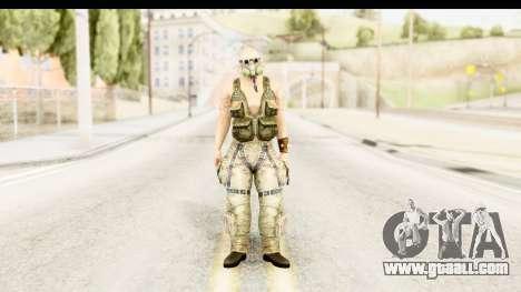 CrimeCraft Male Rogue for GTA San Andreas second screenshot