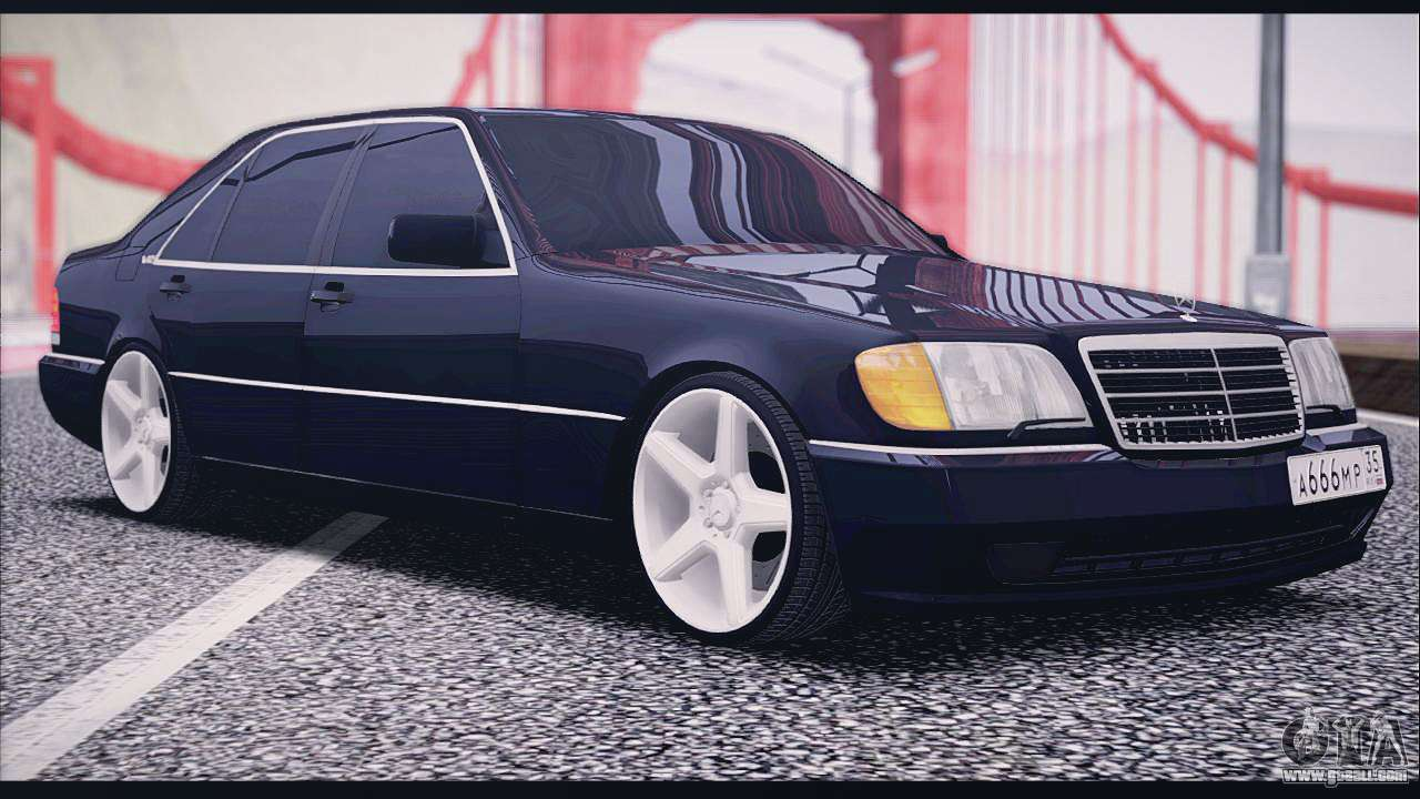 Mercedes benz w140 for gta san andreas for Mercedes benz w140