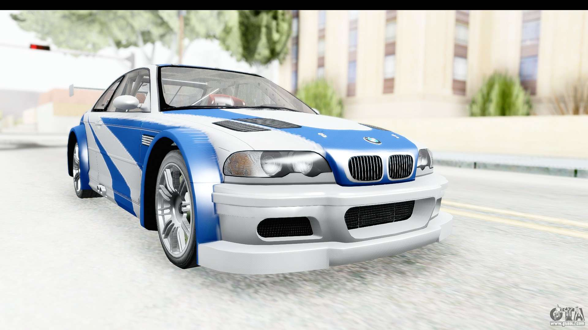 Nfs Mw Bmw M3 Gtr For Gta San Andreas