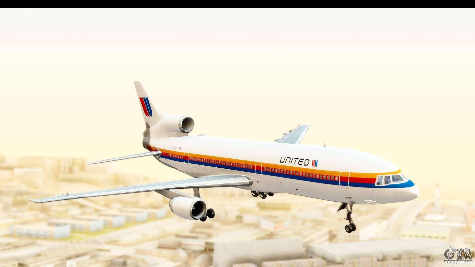 Lockheed L-1011-100 TriStar United Airlines for GTA San ...