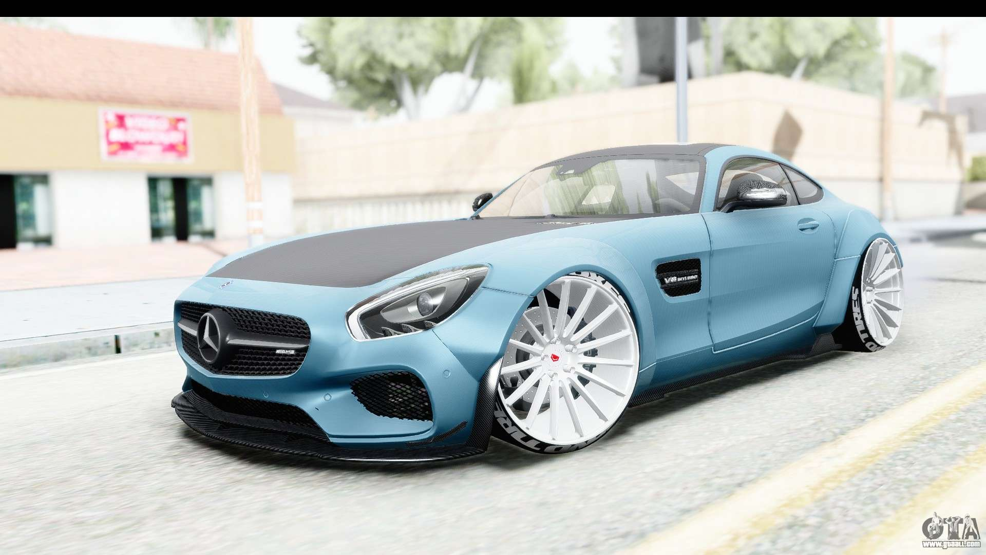 Mercedes benz amg gt prior design for gta san andreas for Mercedes benz design your own
