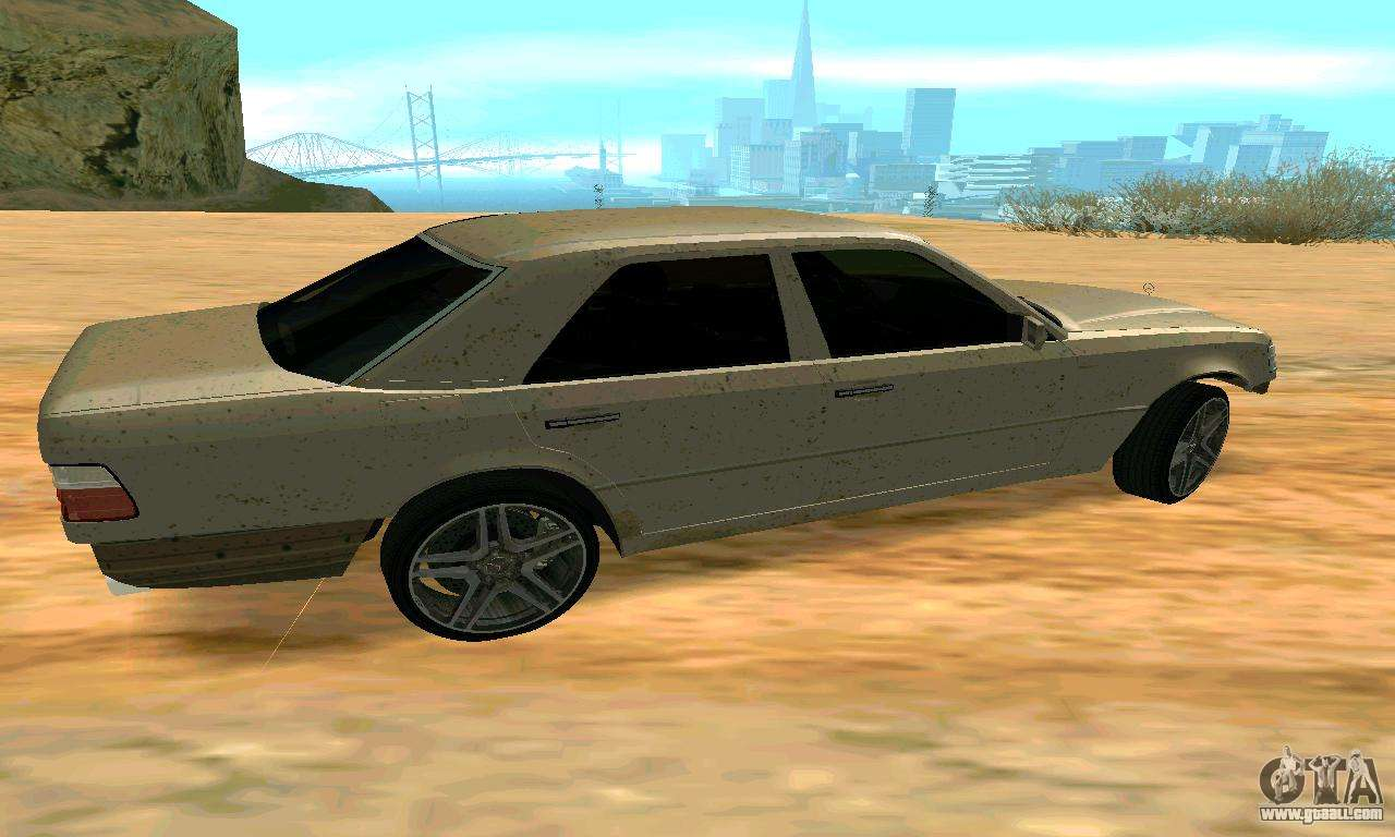 Mercedes benz e500 w124 for gta san andreas for Is mercedes benz a good car