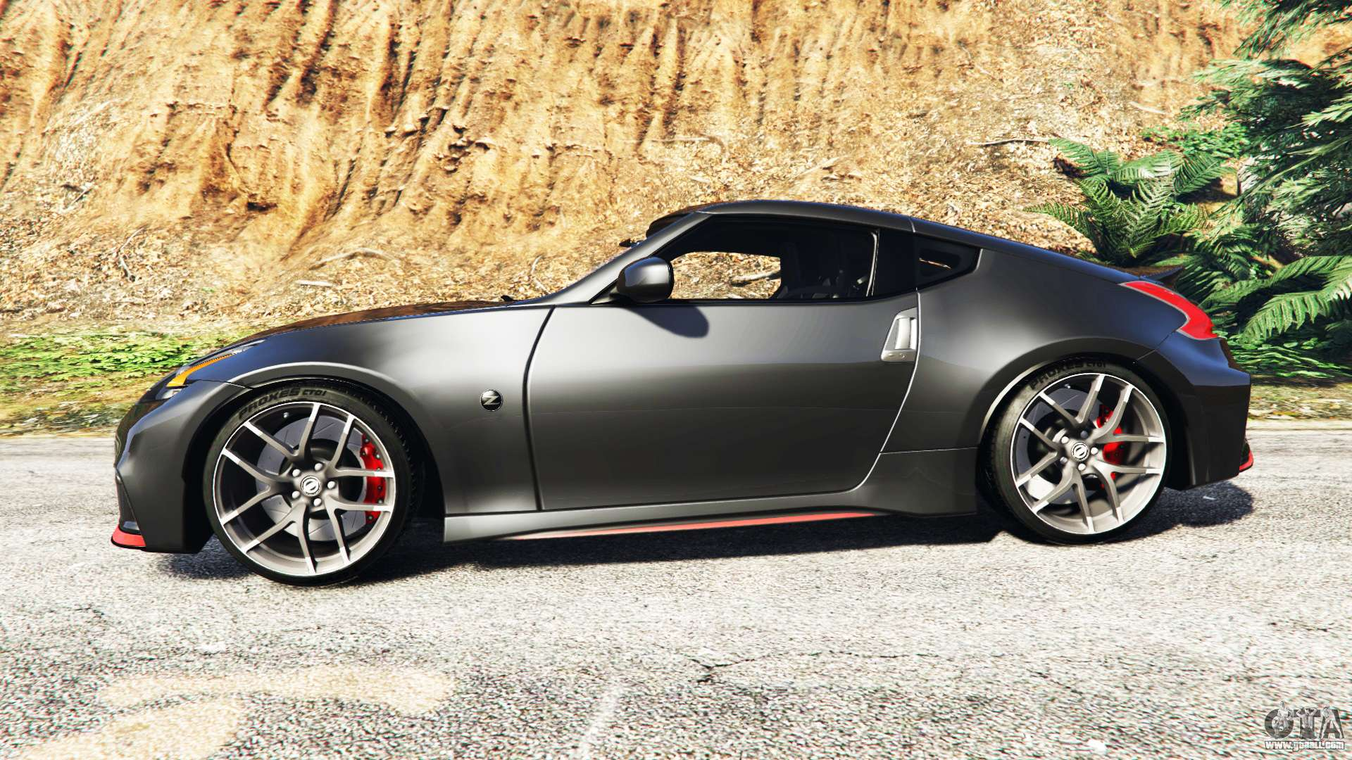 nissan 370z nismo z34 2016 add on for gta 5. Black Bedroom Furniture Sets. Home Design Ideas