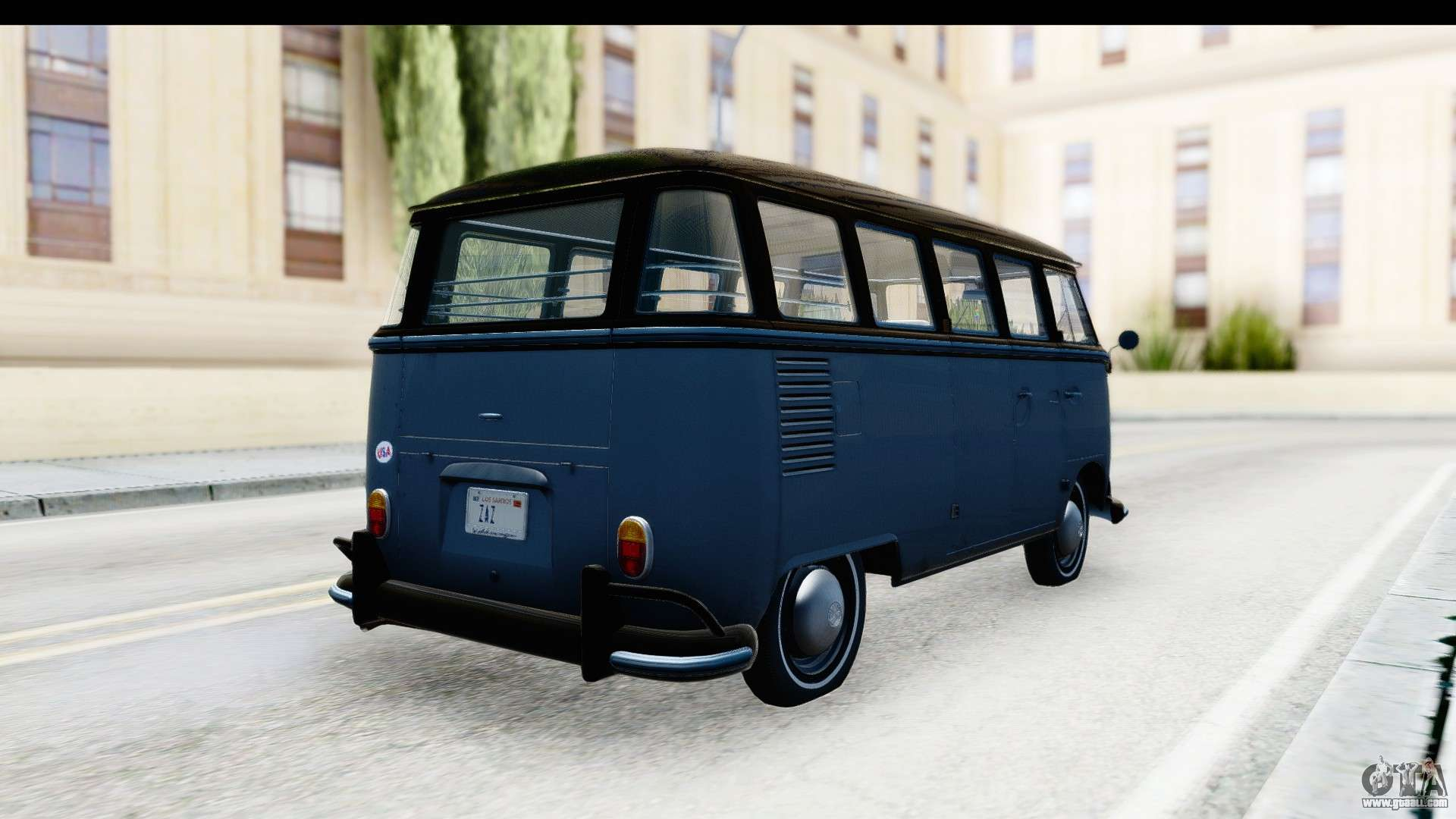 volkswagen transporter t1 deluxe bus for gta san andreas. Black Bedroom Furniture Sets. Home Design Ideas