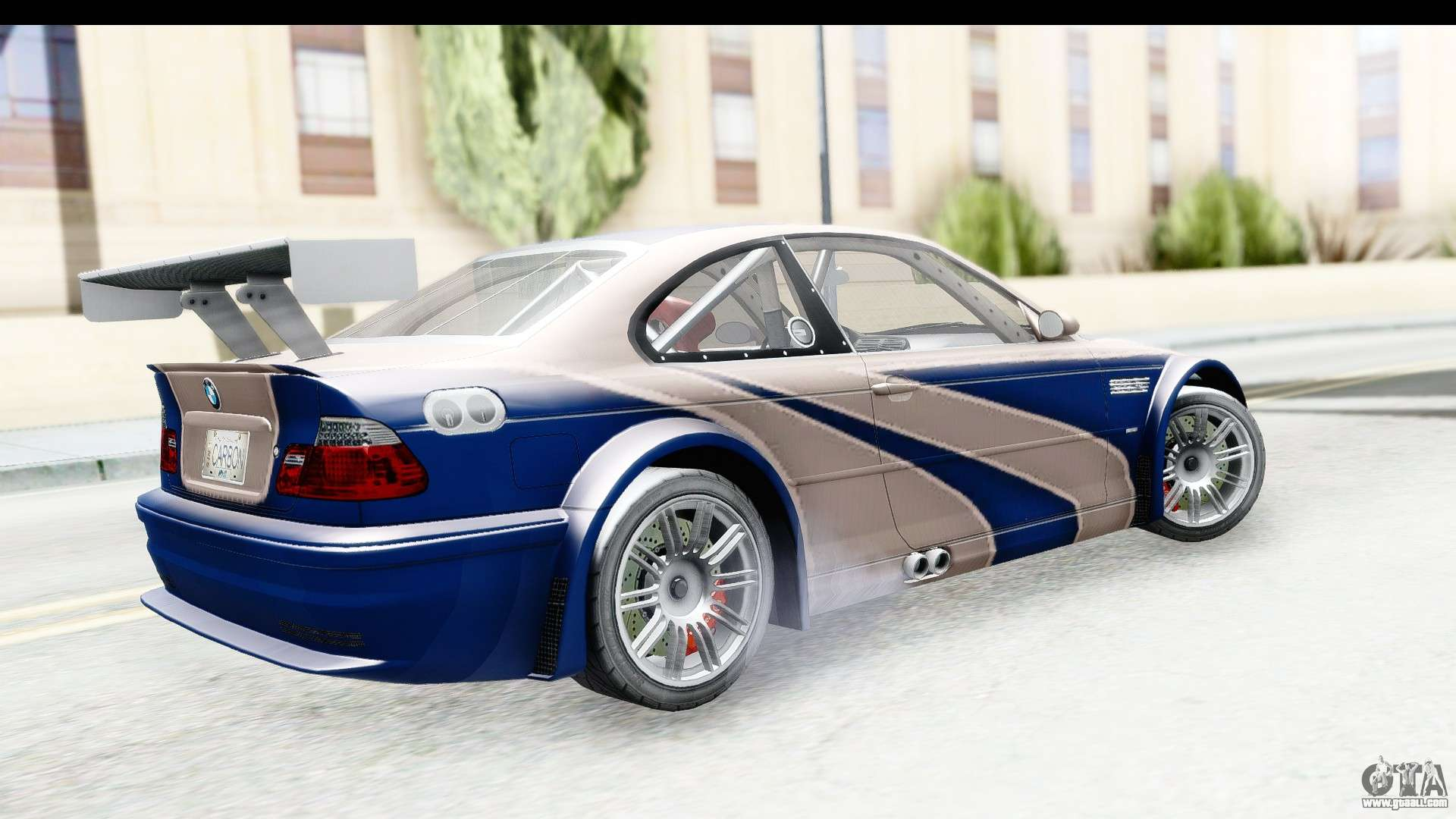 Nfs Carbon Bmw M3 Gtr For Gta San Andreas