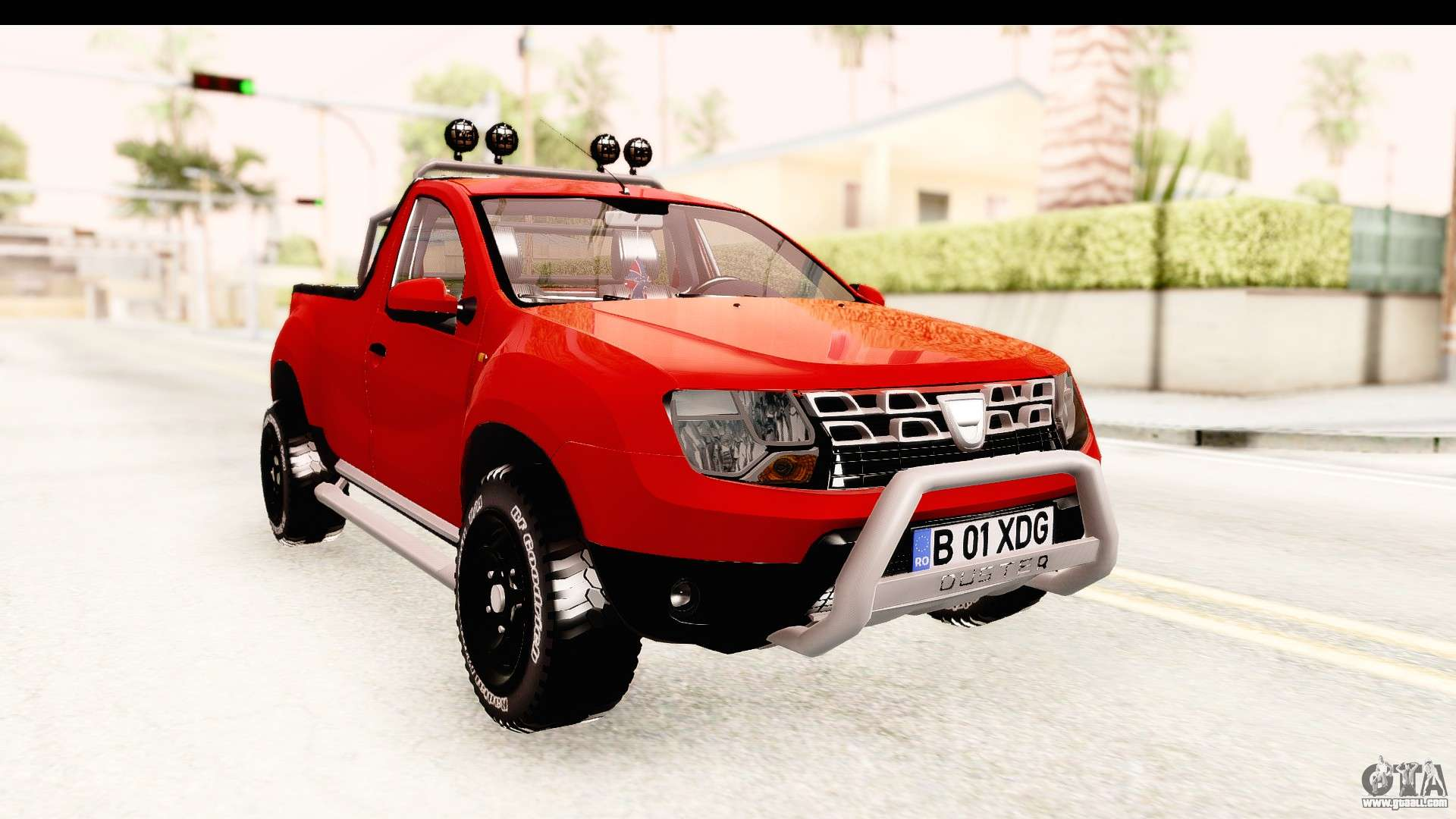 dacia duster pickup for gta san andreas. Black Bedroom Furniture Sets. Home Design Ideas