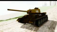 T-34-85 Rudy 102 for GTA San Andreas