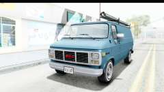 GMC Vandura 1985 White Stripes IVF