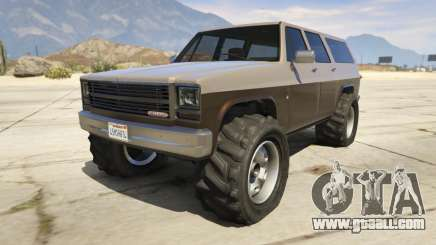 Off-roading Rancher for GTA 5