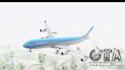 Airbus A340-300 Aerolineas Argentinas for GTA San Andreas