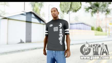 Adidas 03 T-Shirt for GTA San Andreas
