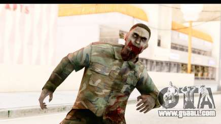 Left 4 Dead 2 - Zombie Military for GTA San Andreas