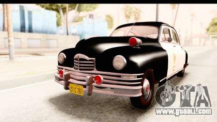 Packard Standart Eight 1948 Touring Sedan LAPD for GTA San Andreas