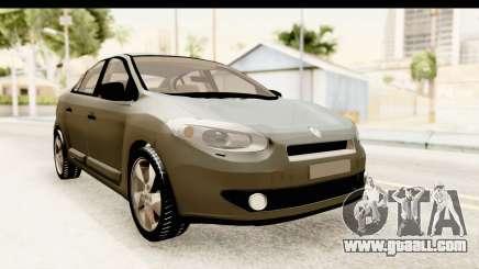 Renault Fluence v2 for GTA San Andreas