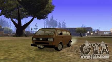 Volkswagen Transporter T-3 Armenian for GTA San Andreas