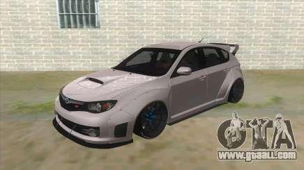 2008 Subaru WRX Widebody L3D for GTA San Andreas