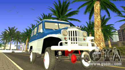 Jeep Station Wagon 1959 for GTA San Andreas