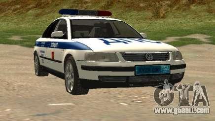 Volkswagen Passat ДПС for GTA San Andreas