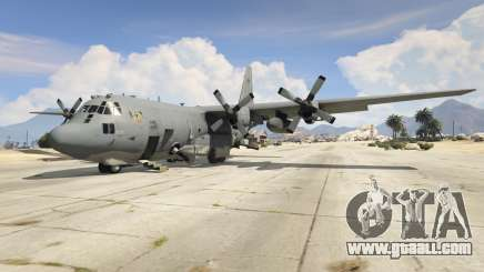 AC-130U Spooky II Gunship for GTA 5