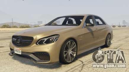 Mercedes-Benz E63 Brabus 850HP for GTA 5
