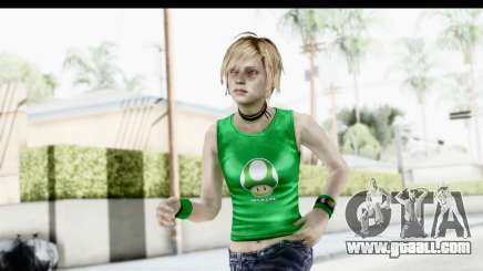 Silent Hill 3 - Heather Sporty Green Get A Life for GTA San Andreas