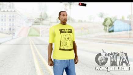 Adidas Thor T-Shirt for GTA San Andreas